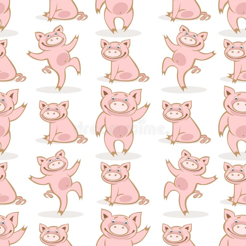 Porc seamless-13 illustration de vecteur