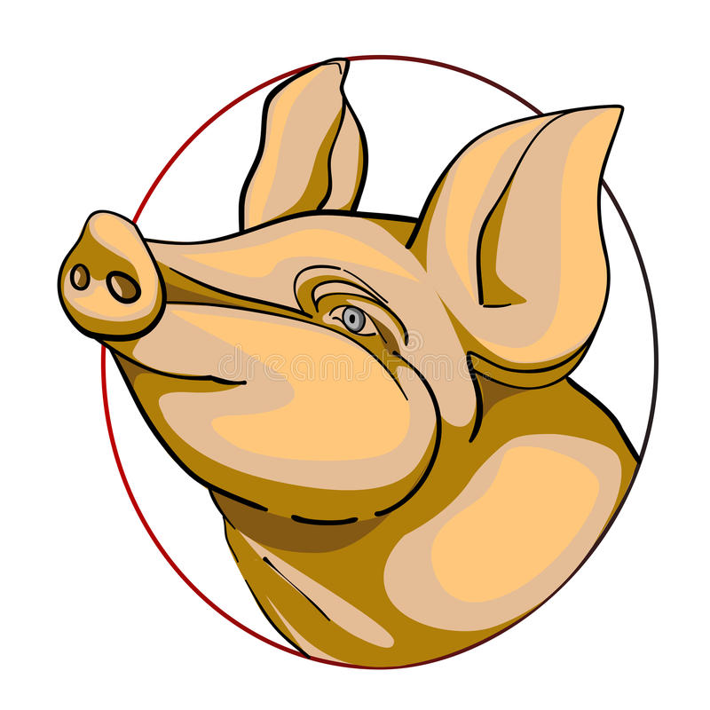 Download Porc Sign Royalty Free Stock Image - Image: 23947996