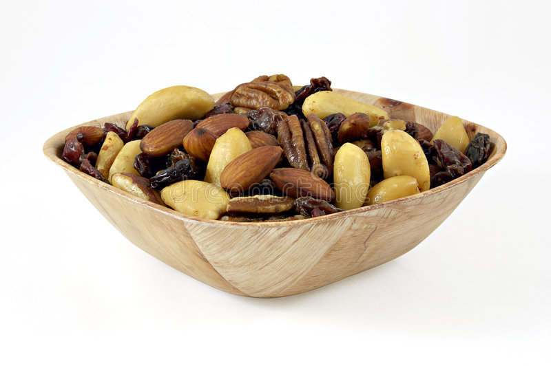 Porcas, raisins, figos e amêndoas foto de stock royalty free