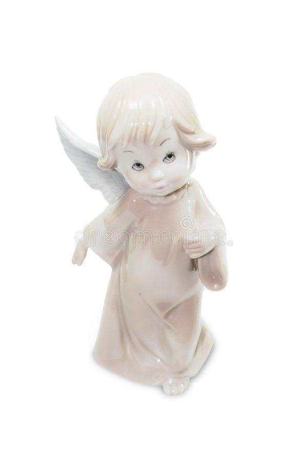 Download Porcelain angel stock image. Image of fairy, baby, isolated - 7658351