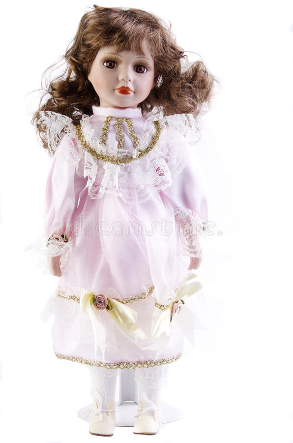 Download Porcelain baby doll stock photo. Image of girl, nose - 18715826