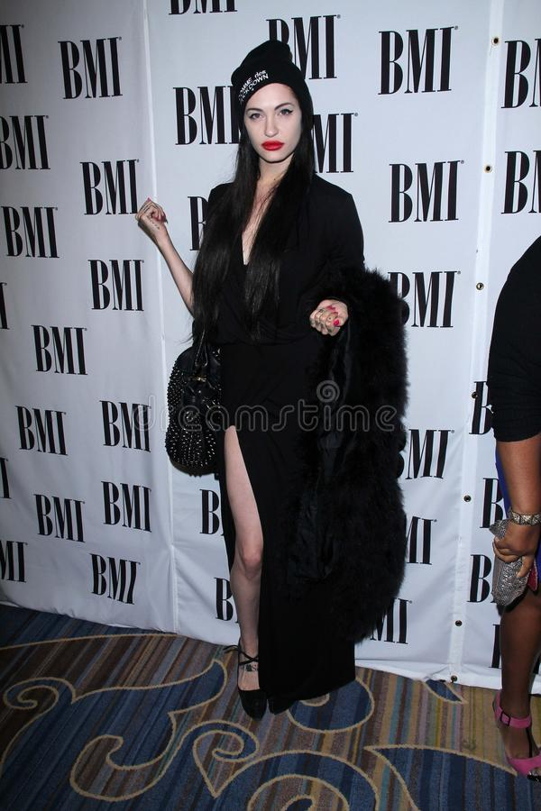 Download Porcelain Black At The BMI Pop Awards, Beverly Wilshire Hotel, Beverly Hills, CA 05-15-12 Editorial Stock Image - Image of awards, beverly: 25221359