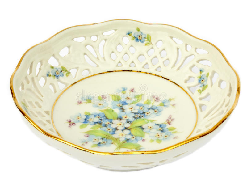 Porcelain bowl royalty free stock photography