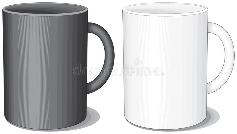 Download Porcelain cups stock vector. Illustration of coffee, dishware - 13926169