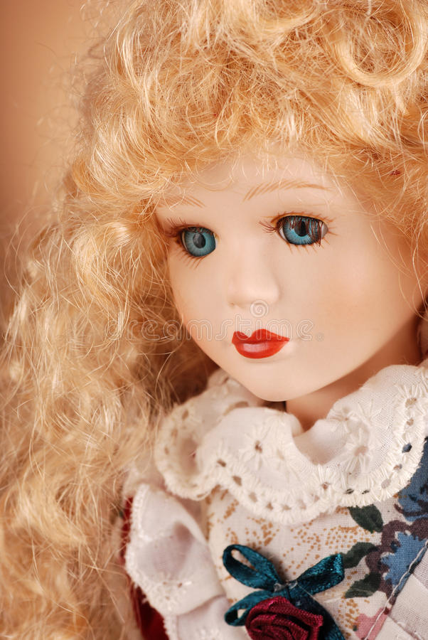 Download Porcelain doll stock photo. Image of fashion, head, design - 24610866