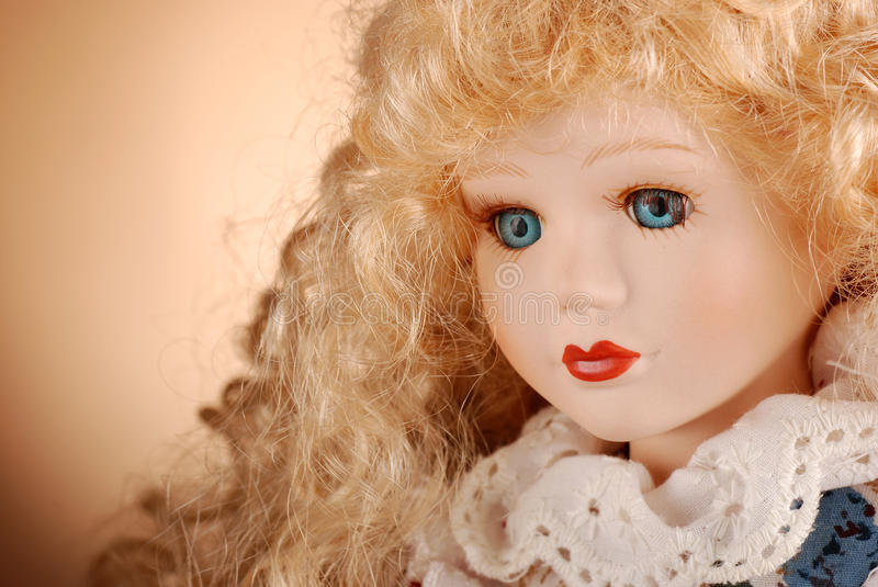 Download Porcelain doll stock photo. Image of young, portrait - 24610890