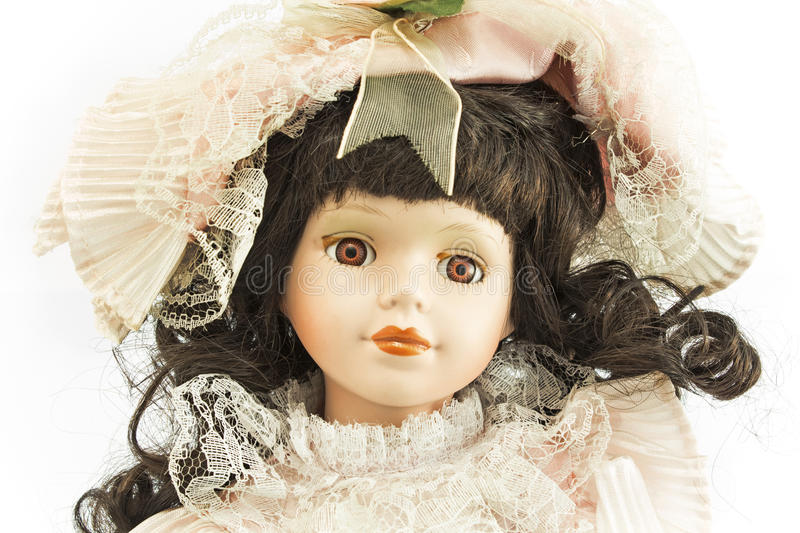 Porcelain doll royalty free stock images