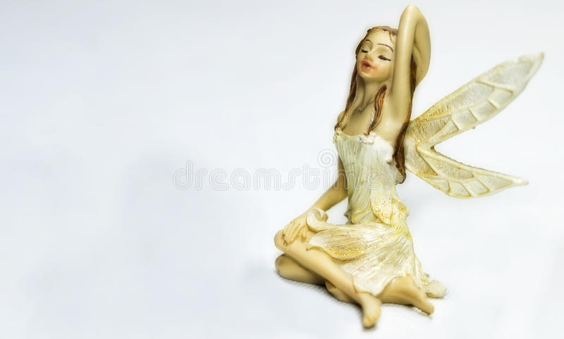 Porcelain fairy stock image