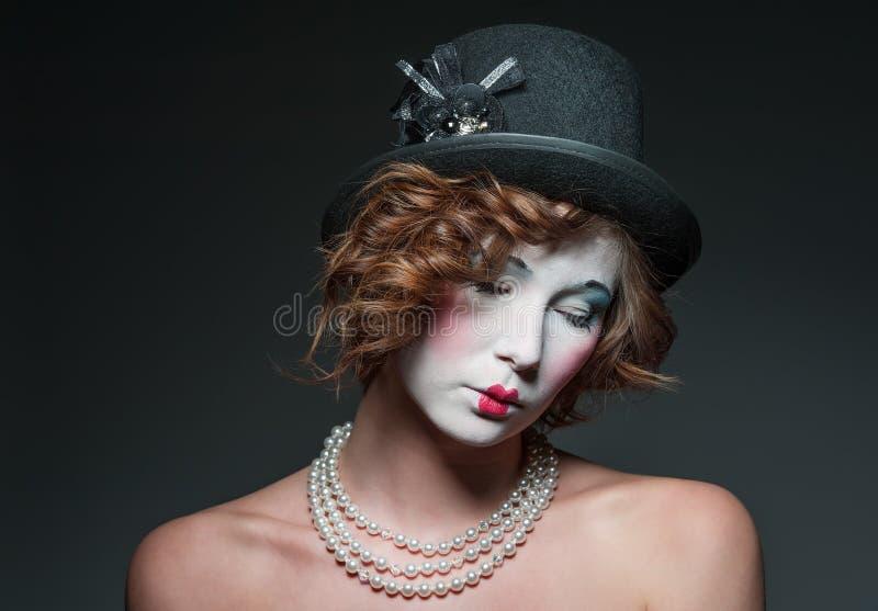 Download Porcelain girl stock image. Image of makeup, necklace - 24187237