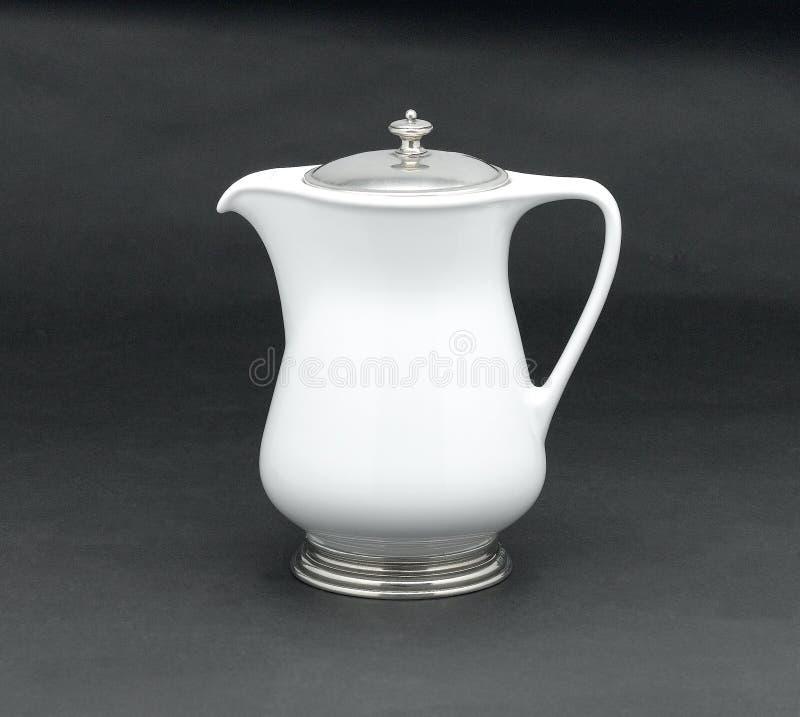 Download Porcelain pitcher stock image. Image of shape, cold, dishware - 27136869