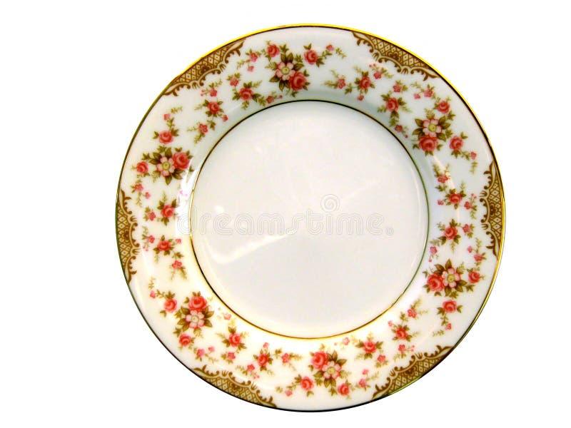 Porcelain plate stock photos