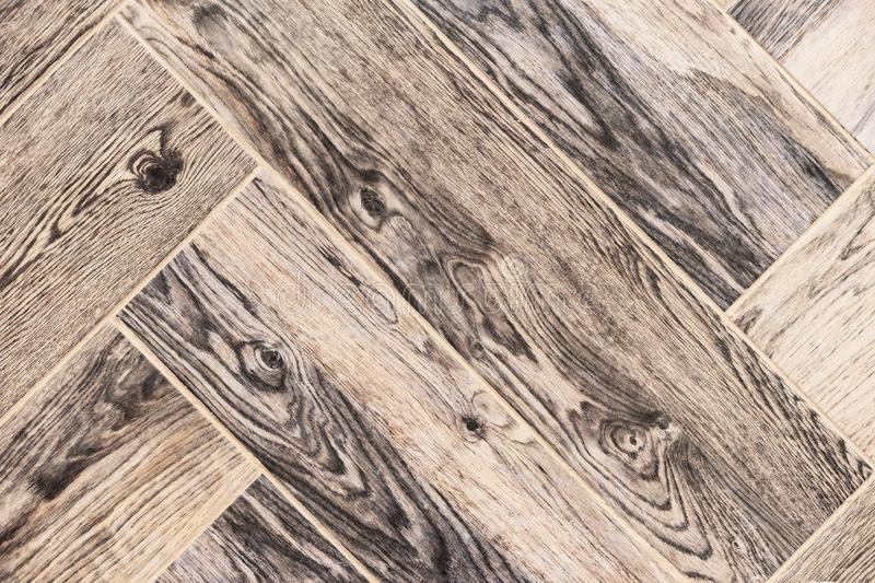 Porcelain stoneware tiles with wooden texture. Background of porcelain stonewear tiles stock photos