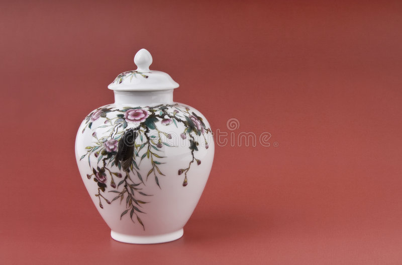 Porcelain Of Tea Pot Royalty Free Stock Photography