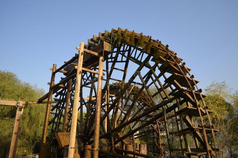 Porcelaine de roue hydraulique de Lanzhou photos stock