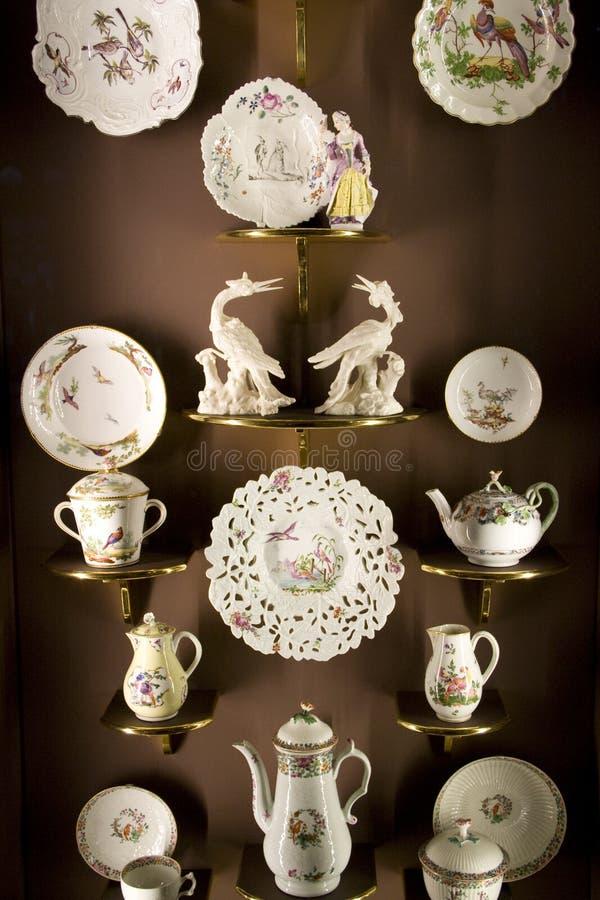Porcelains showroom royalty free stock image