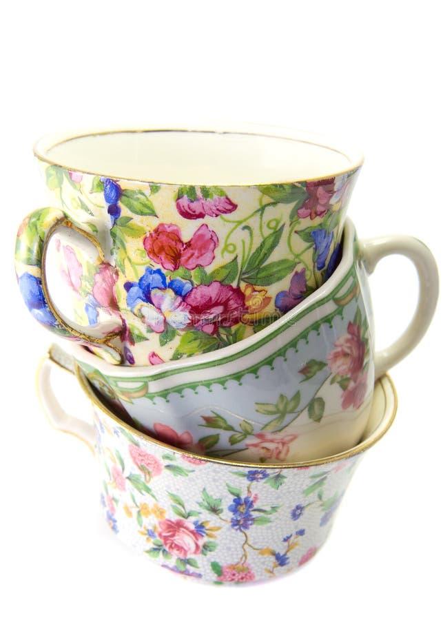 Porcelana antiga. imagens de stock royalty free