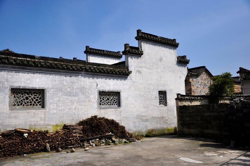 Porcelana antiga do hongcun da vila foto de stock royalty free