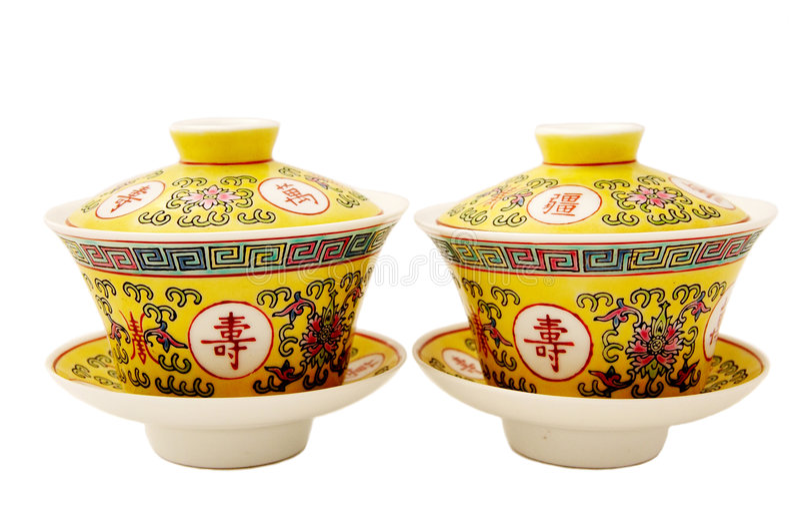 Porcelana chinesa do chá imagem de stock royalty free