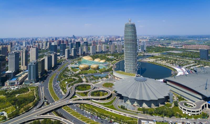 Porcelana de Zhengzhou henan imagens de stock royalty free