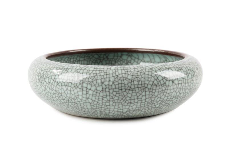 Porcelana decorativa agrietada de la textura imagen de archivo