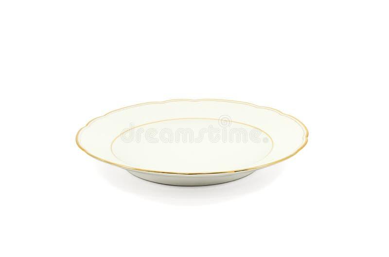 Porcelana do prato foto de stock royalty free