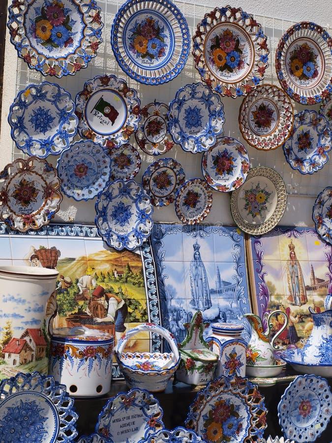 Porcelana, Fátima, Portugal fotos de archivo libres de regalías