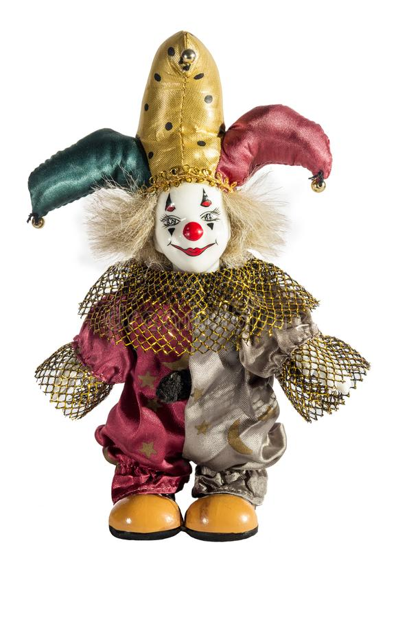 Porcelana Jester Doll fotografia de stock royalty free