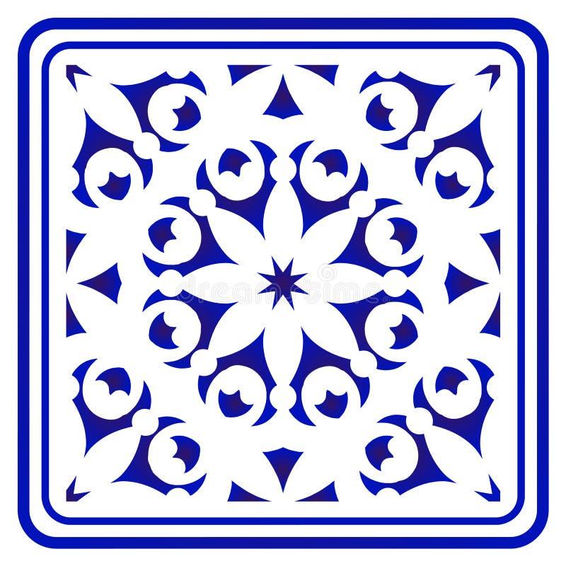 Porcelana wzór royalty ilustracja