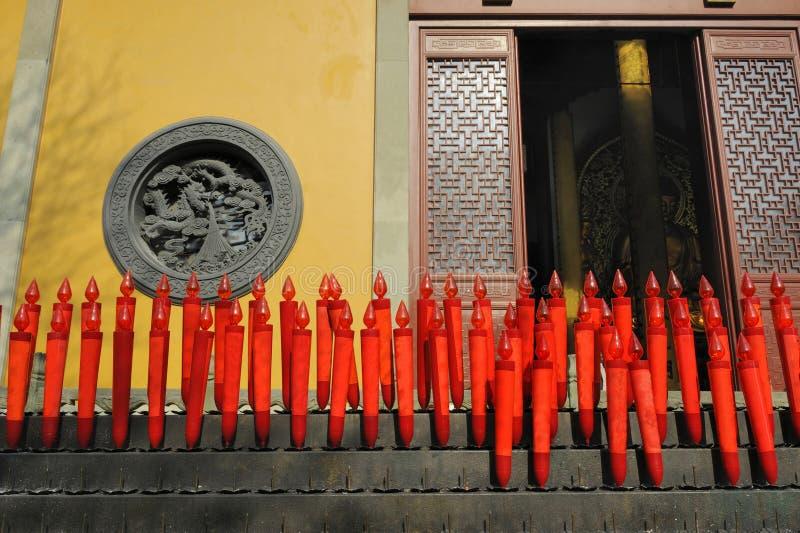 porcelanowa confucian Hangzhou lingyin świątynia zdjęcie stock