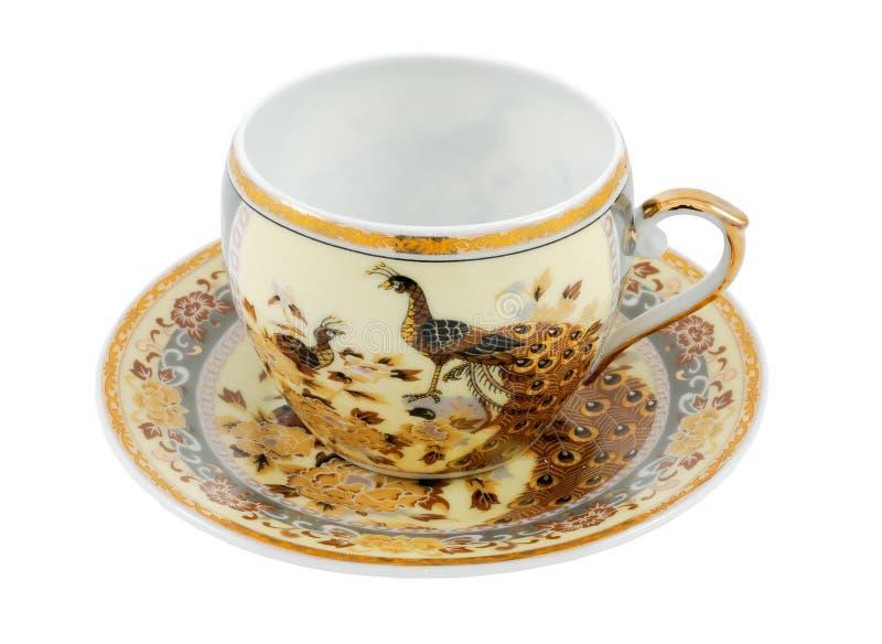 Porcelanowa filiżanka zdjęcia royalty free