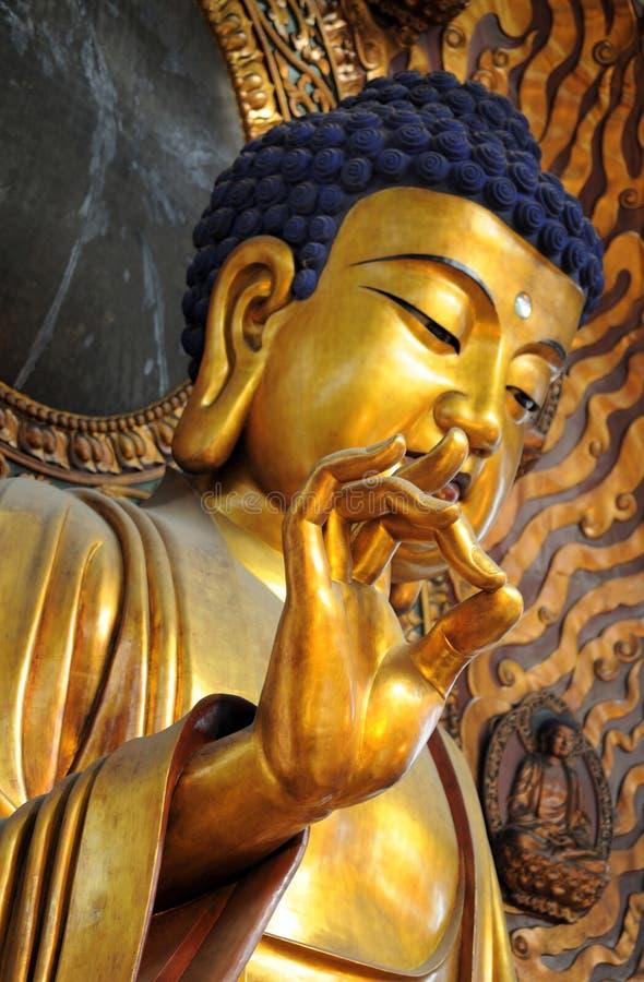 porcelanowa Hangzhou lingyin świątynia obraz royalty free