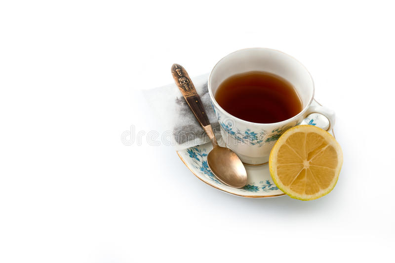 Porcelanowa herbaciana filiżanka 02 zdjęcie stock