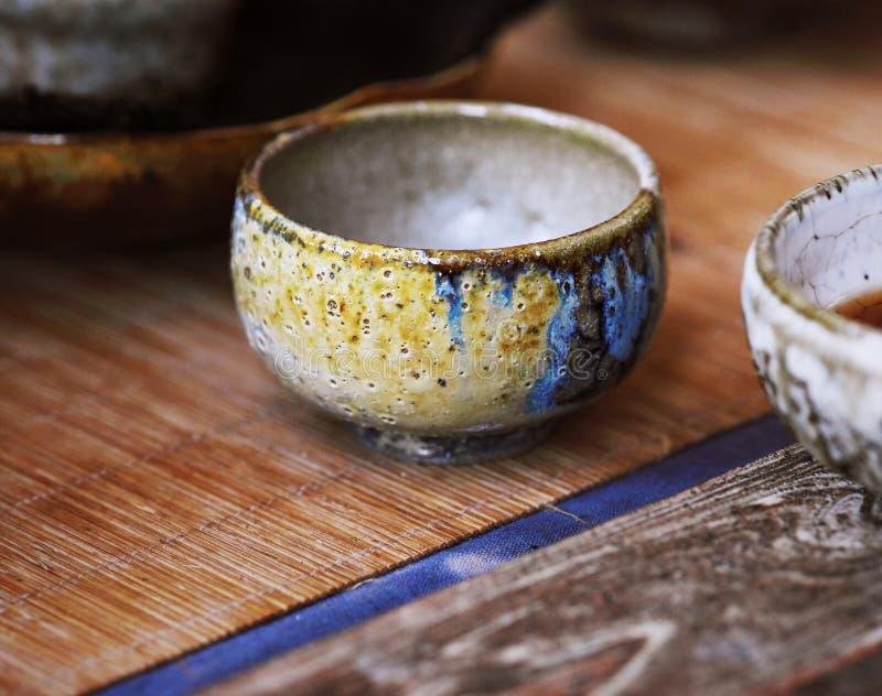 Porcelanowa Herbaciana filiżanka zdjęcia stock