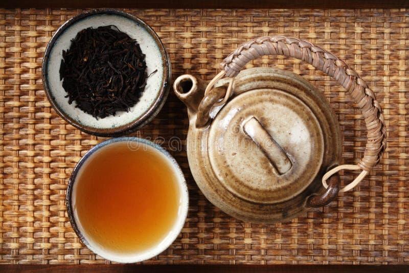porcelanowa herbata zdjęcie stock