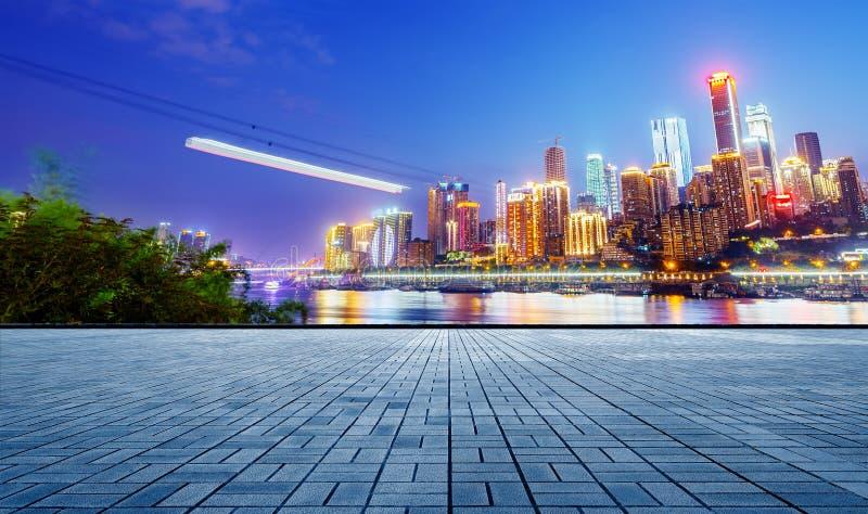 Porcelanowy Chongqing Miastowy krajobraz fotografia stock