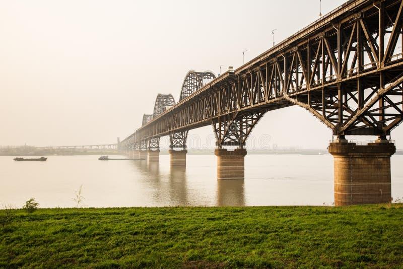 porcelanowy jangcy most obrazy stock