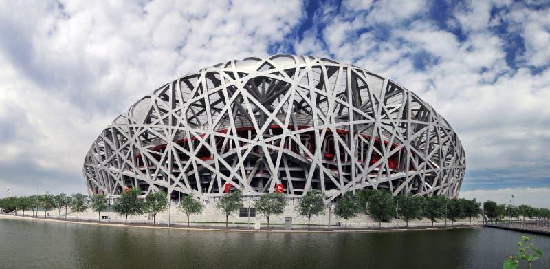 porcelanowy krajowy olimpijski stadium zdjęcie stock