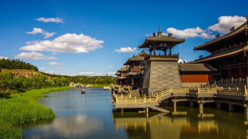 porcelanowy kulturalny datong grot dziedzictwo lokalizować światowego yungang zdjęcie stock