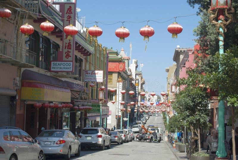 Porcelanowy miasteczko, Stary Szanghaj, San Francisco zdjęcia stock