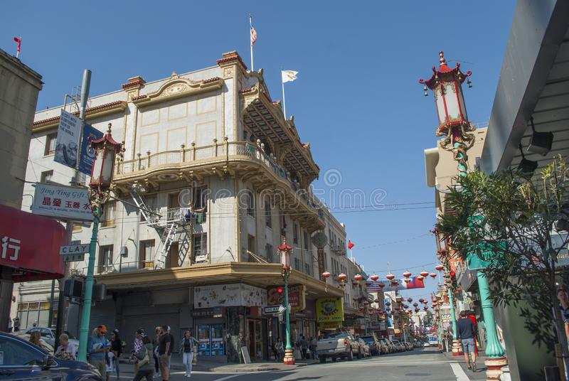 Porcelanowy miasteczko, Stary Szanghaj, San Francisco zdjęcia royalty free
