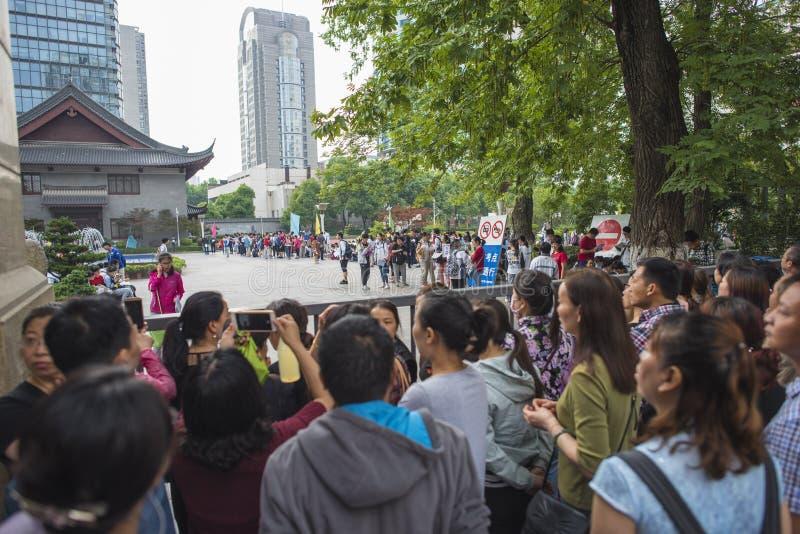 Porcelanowy ` s Krajowy Wejściowy egzamin w Nanjing zdjęcia royalty free