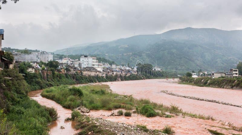 Porcelanowy ` s Sichuan wielki Liangshan zdjęcia stock