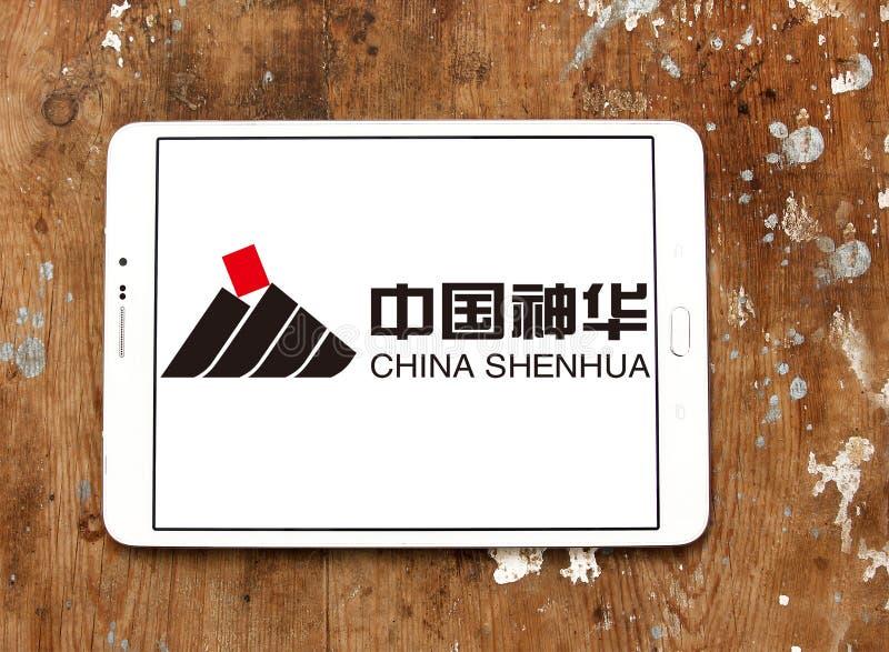 Porcelanowy Shenhua energii logo obrazy royalty free