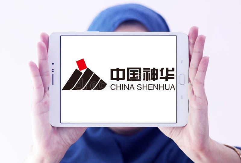 Porcelanowy Shenhua energii logo zdjęcia royalty free