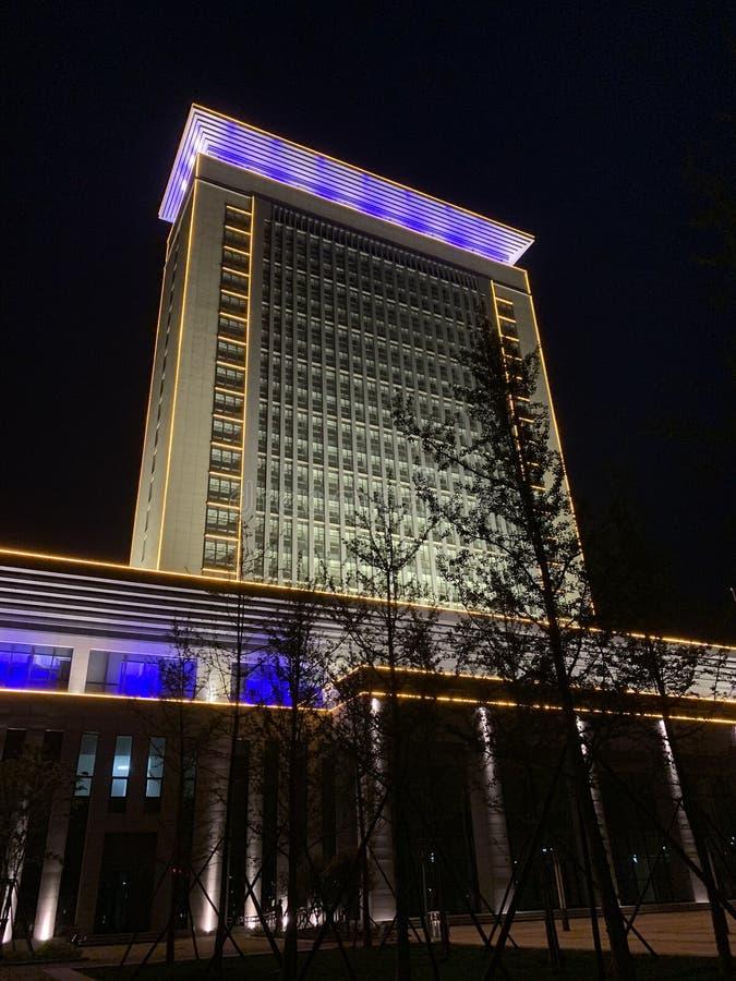 Porcelanowy Wuyang Xinweimin Usługowy centrum zdjęcia stock