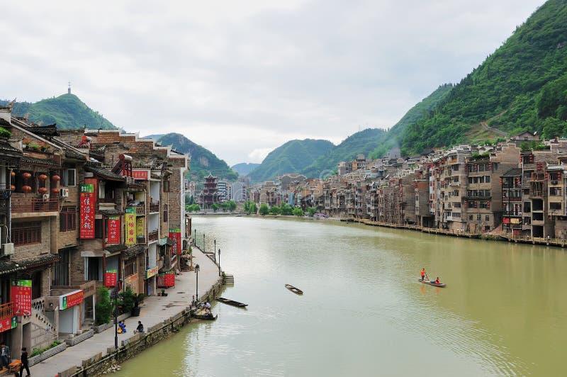 Porcellana del Guizhou - di Zhenyuan immagine stock