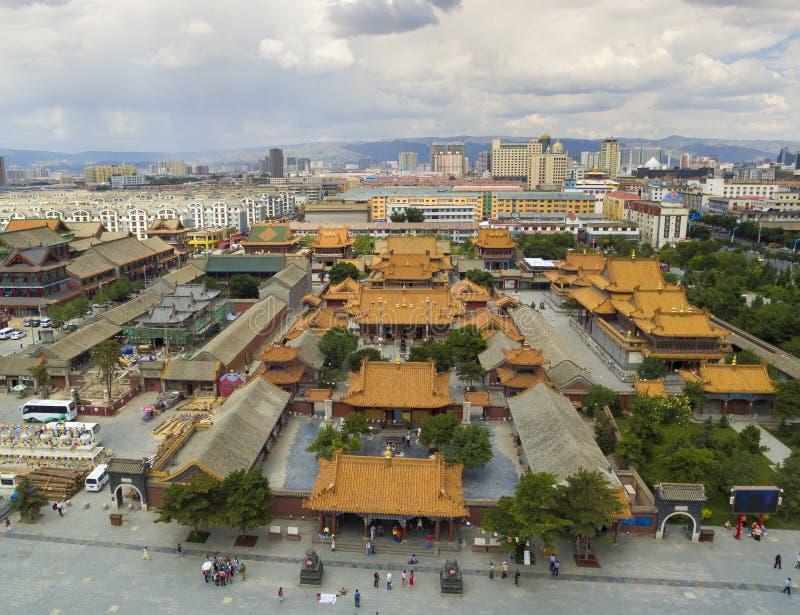 Porcellana di Mongolia Interna del tempio di Dazhao fotografia stock libera da diritti
