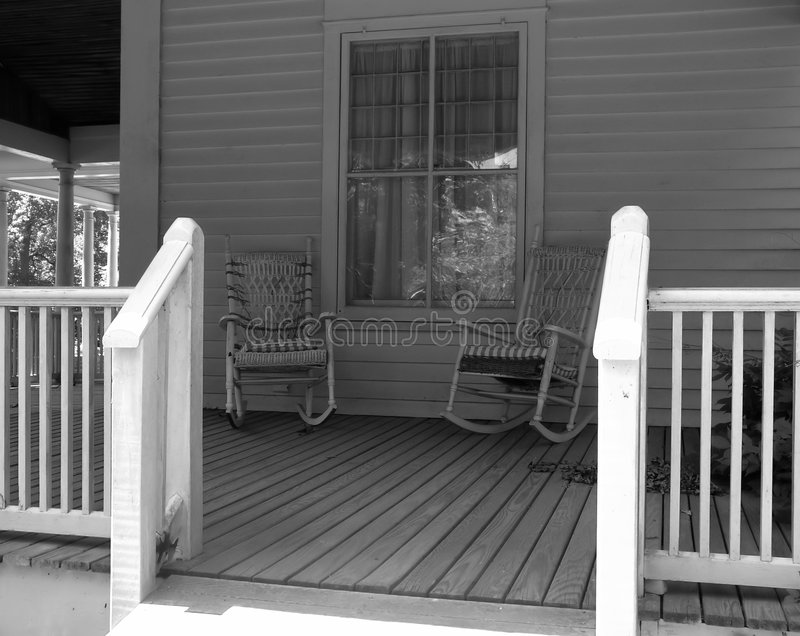 Porch royalty free stock image