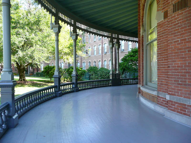 Download On the Porch stock image. Image of green, round, path - 27534453
