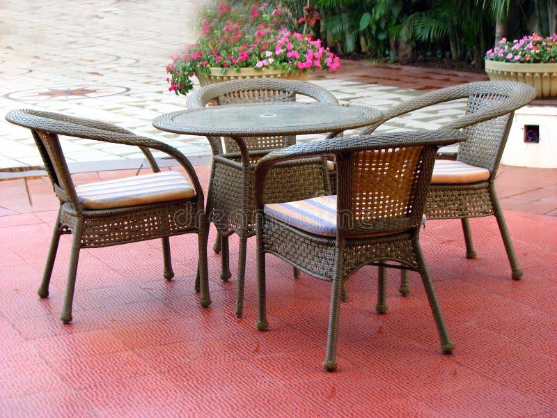 Porch Furniture royalty free stock image